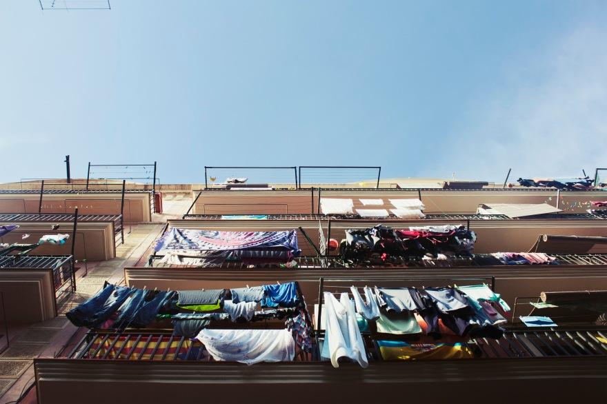 Barcelona - balcons habités