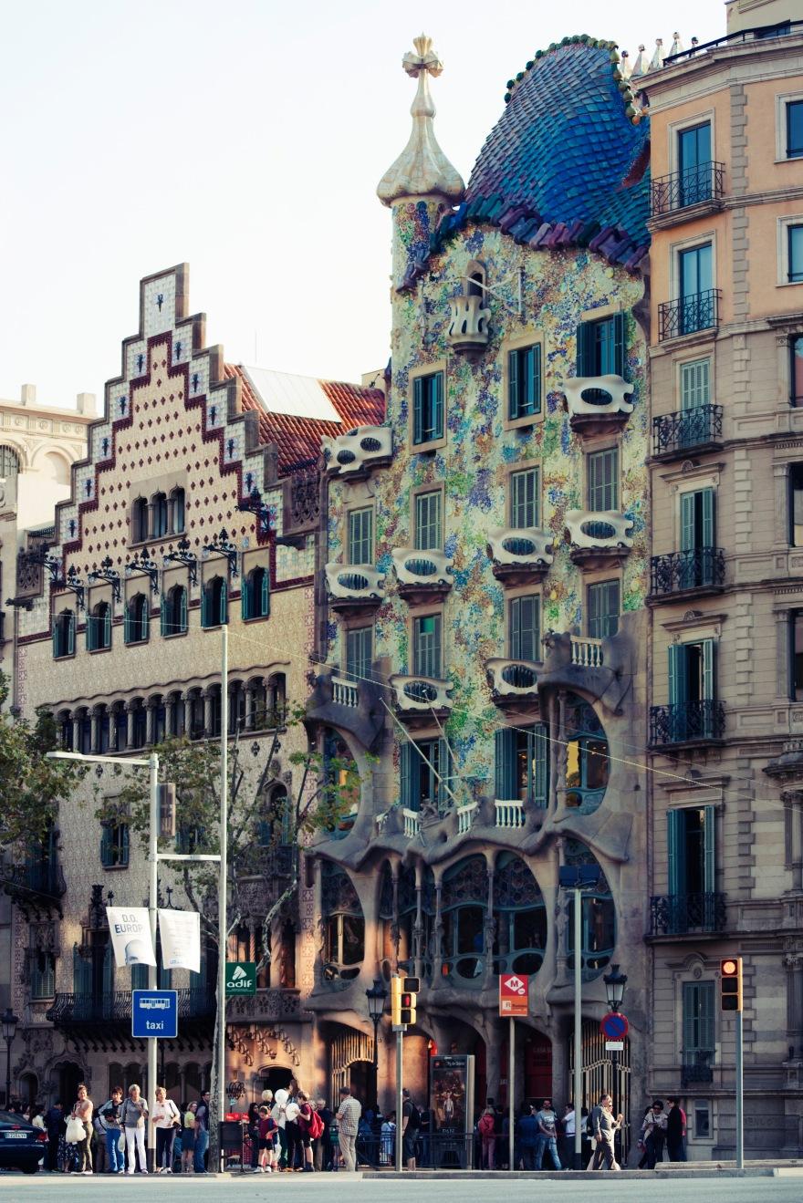 Barcelona - casa balto