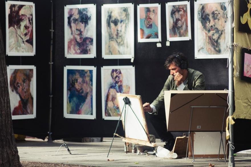 Paris - creating