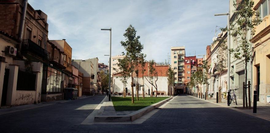 Barcelona - paths