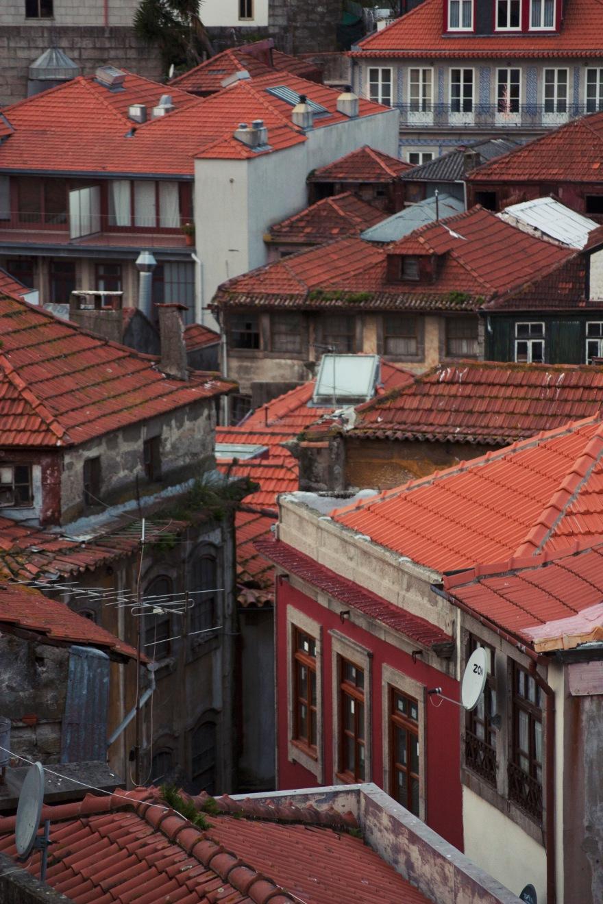 Porto - orange roofs