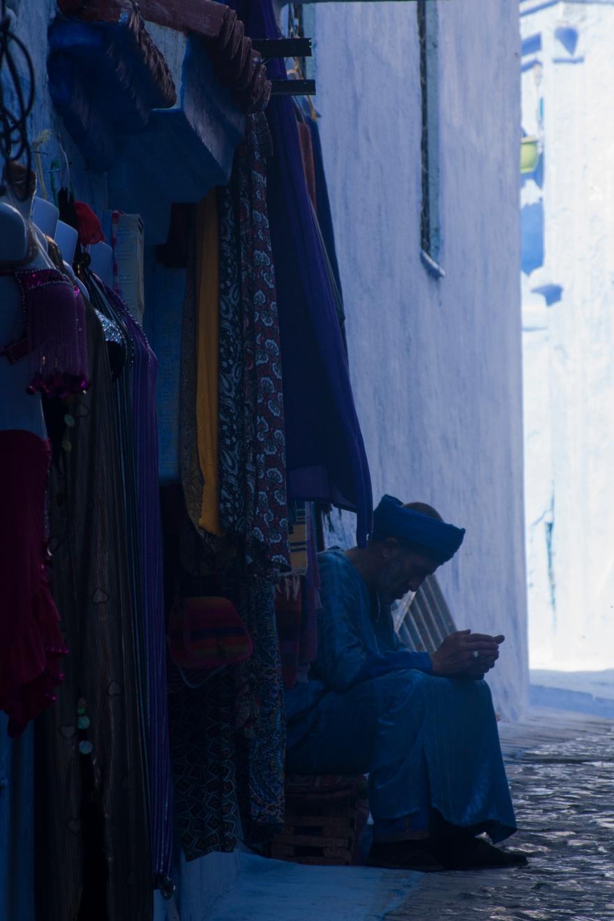 Chefchaouen seller
