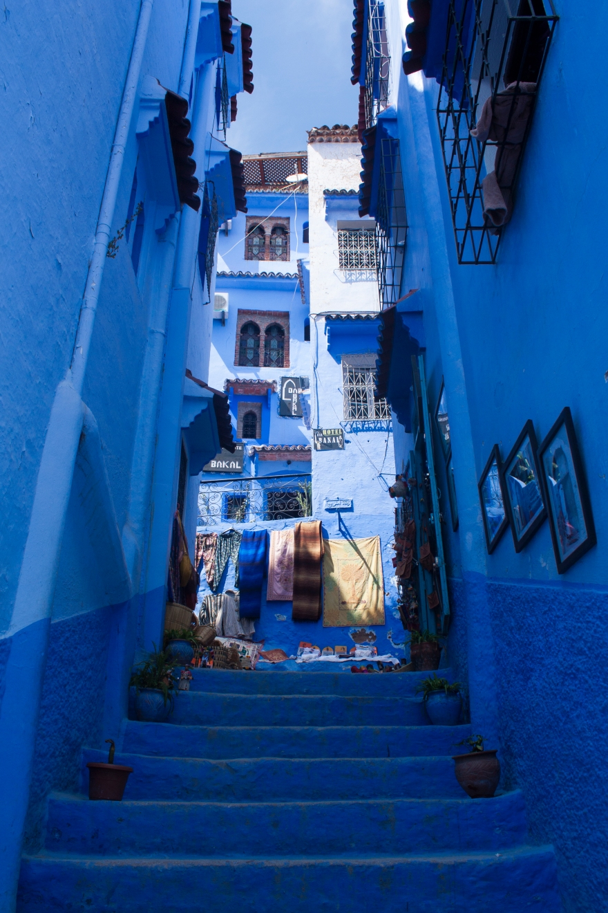 Chefchaouen upstairs