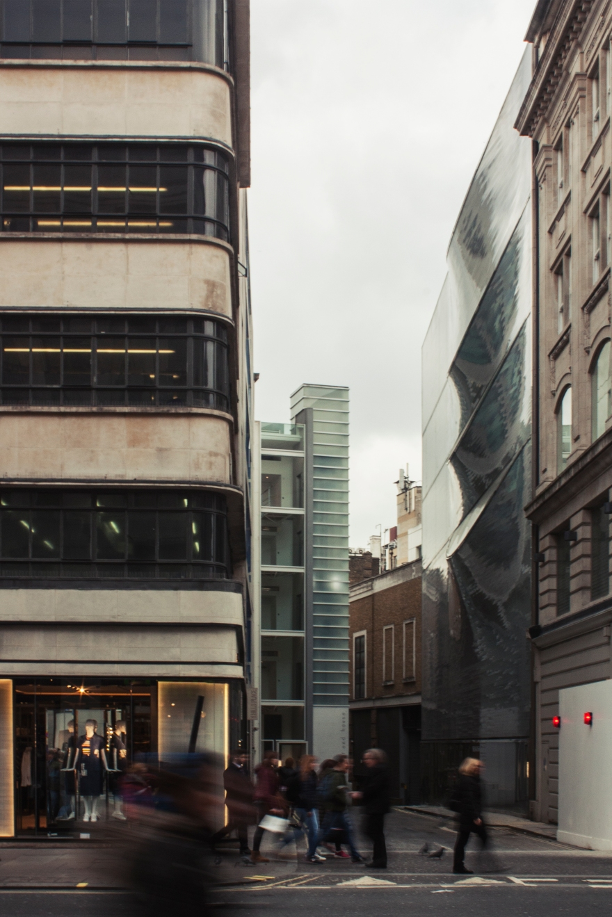 london - folds