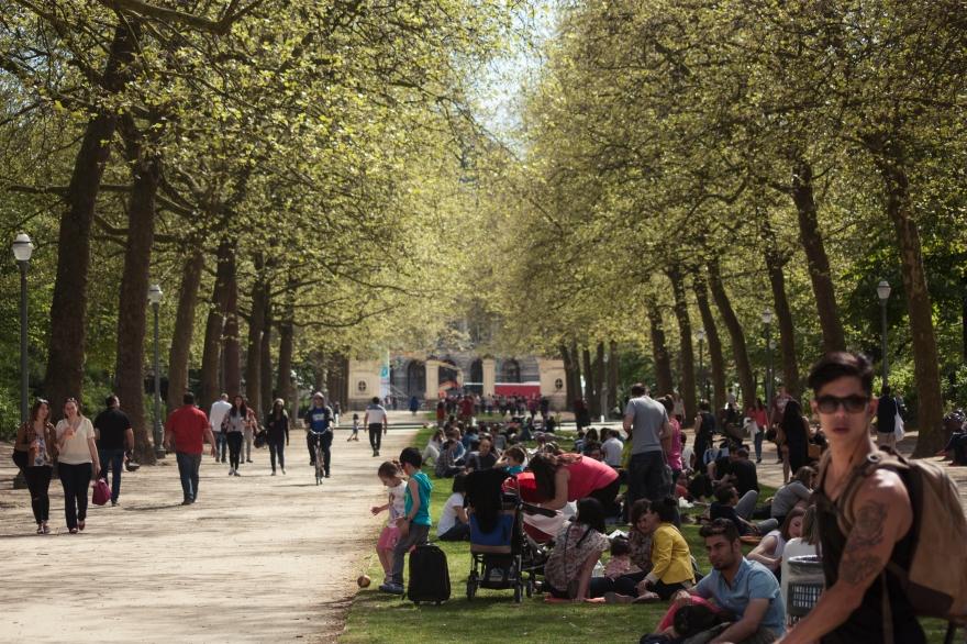 Bruxelles parc