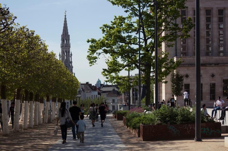 Bruxelles walk