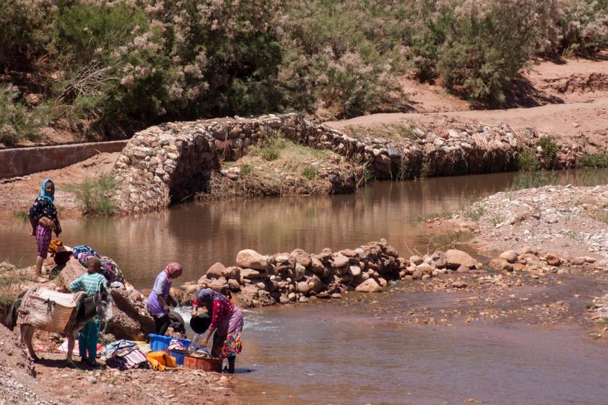 Maroc lavage