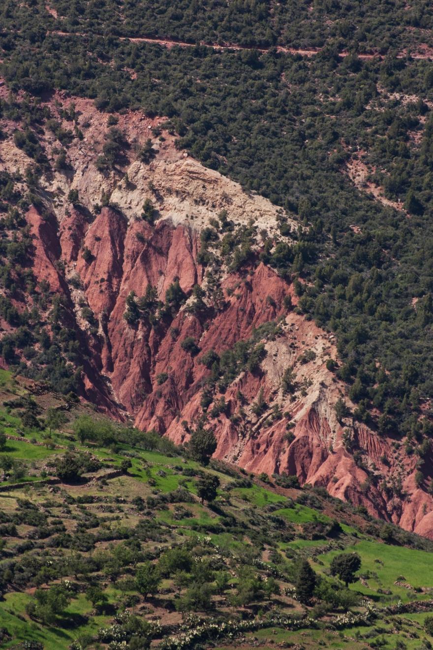 Maroc rouge et vert