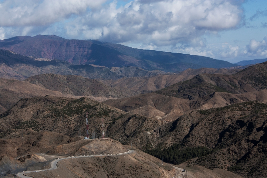 Maroc terreux